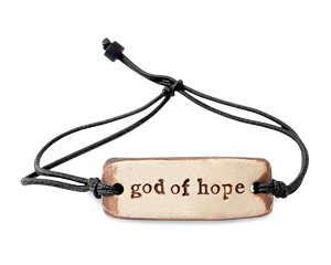 God of Hope MudLove Bracelet