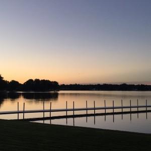 Sunrise in Winona Lake