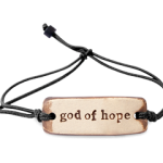 God of Hope MudLove Bracelets
